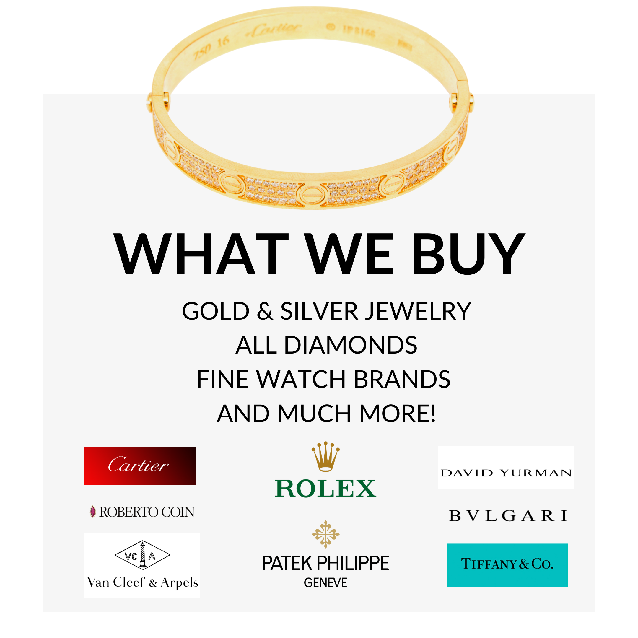 """""""Fort Lauderdael Estate Buyers What We Buy Jewlelry Gold Diamonds Fine Watches"""""""